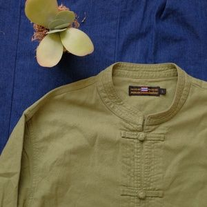 Other - Vintage Green Linen Jacket